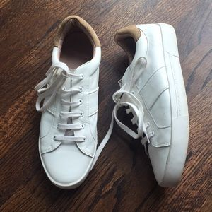 Joie white leather shoes sneakers 39
